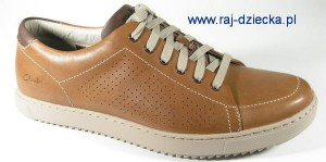 Clarks Niven Life5 Tan Leather