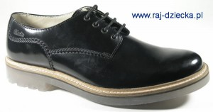 Clarks Monmart Walk Black Leather