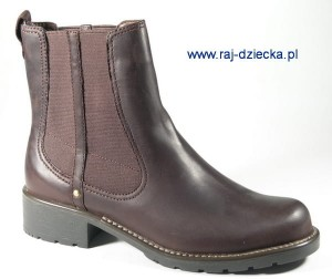 Clarks Orinoco Club Burgundy Leather